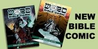 LAUNCH OF COMIC BOOK BIBLE - NOT FOR KIDS!